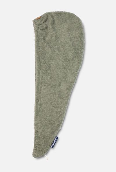 Haarhanddoek verde velho